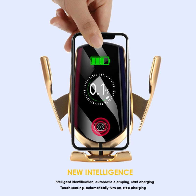 Infrared Automatic Induction Wireless Car Charging Holder