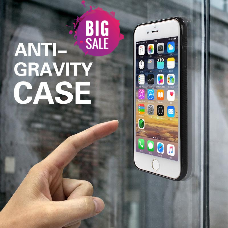 iPhone Nano Suction Anti Gravity Phone Case