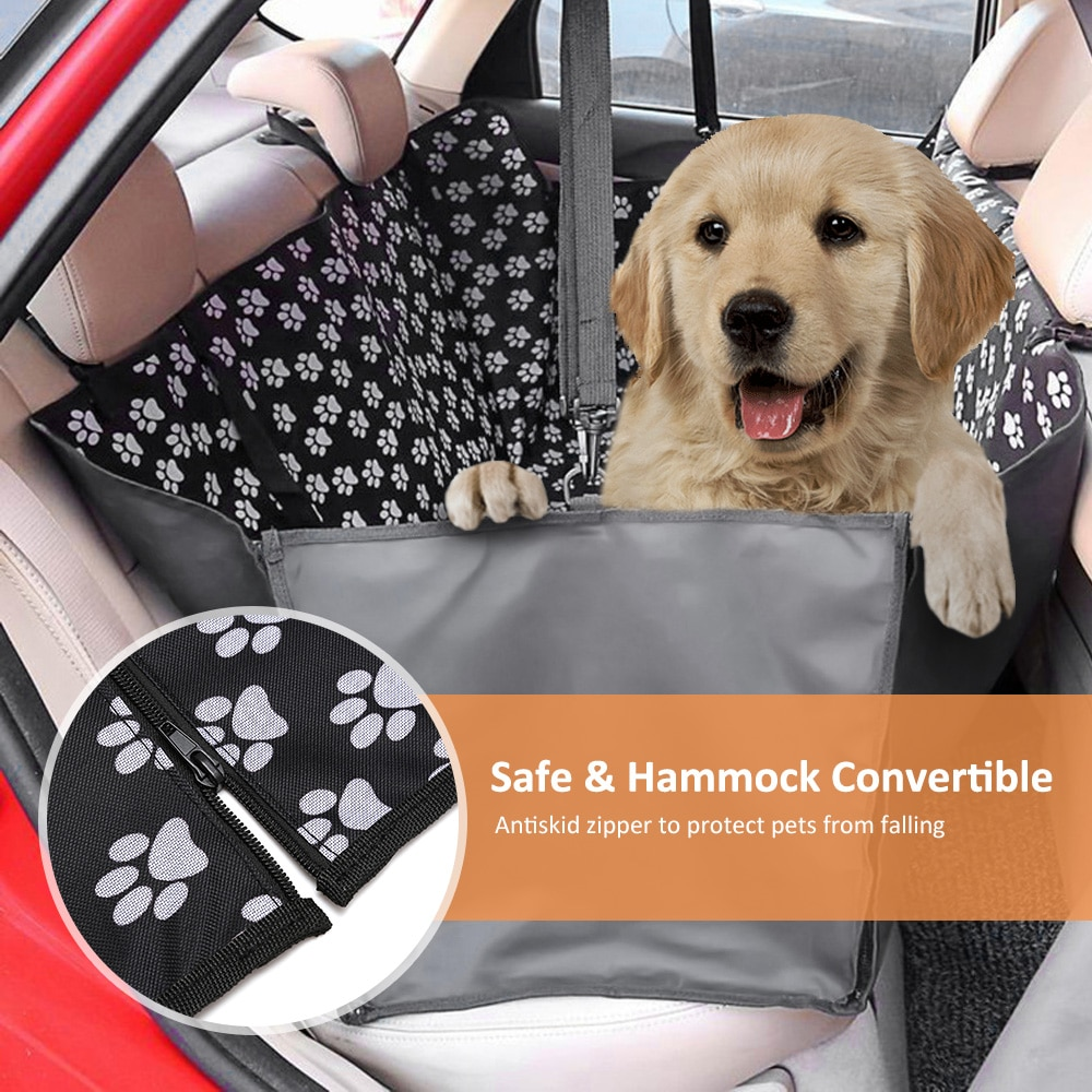 Dog Carrier & Car Back Seat Protector